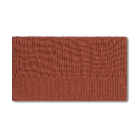 Repose AMS Stone Brown Knitted Scarf (Small) | POCO KIDS