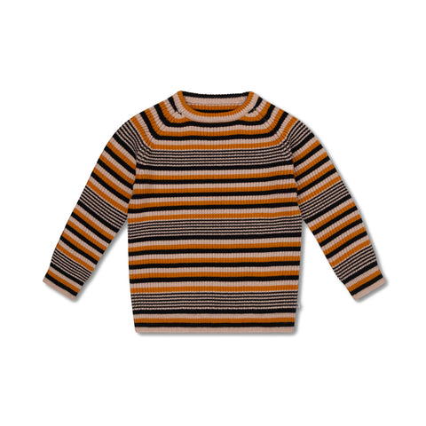 Repose AMS Retro Stripe Knitted Raglan Sweater | POCO KIDS