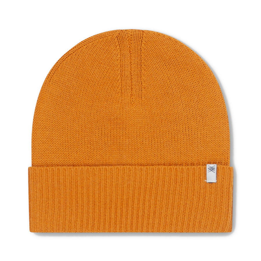 Repose AMS Warm Yellow Knitted Hat | POCO KIDS
