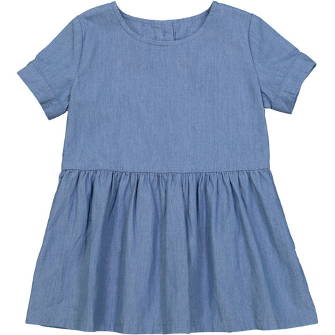 Tootsa MacGinty Light Blue Denim Rio Negra Smock Dress | POCO KIDS