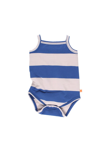 Tinycottons Big Blue and Pink Stripes Body | POCO KIDS
