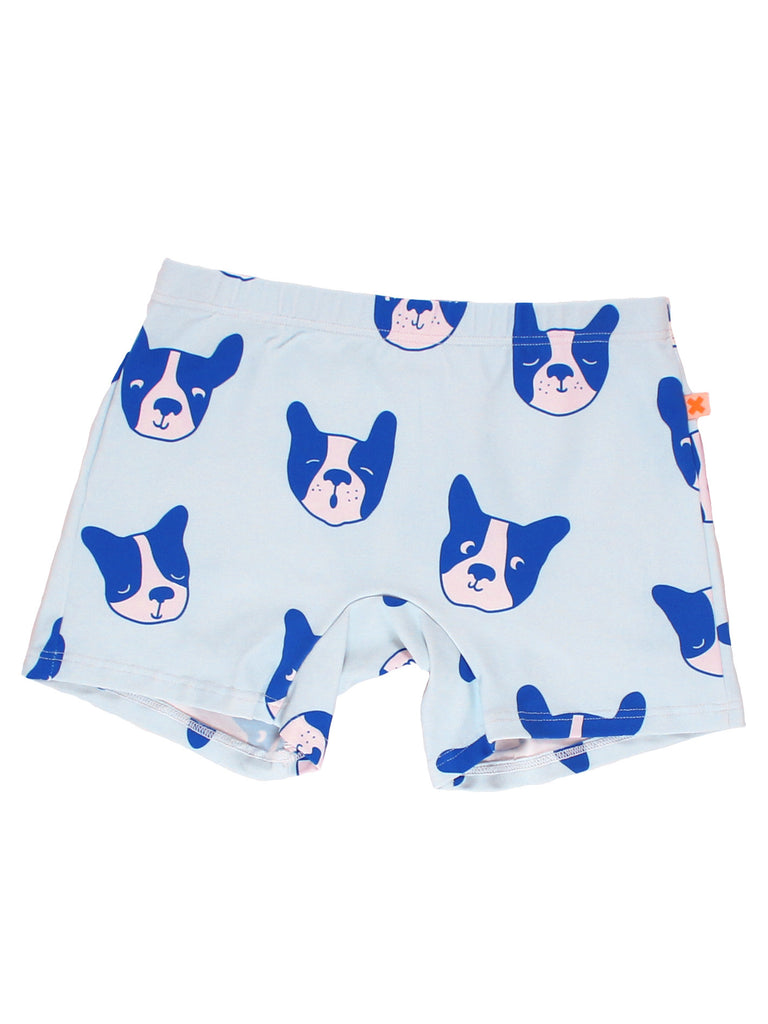 Tinycottons Pale Blue Moujik Swim Trunks | POCO KIDS