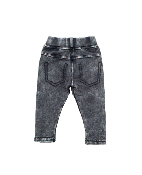 I dig Denim Grey Sammy Jean look Leggings, back | POCO KIDS