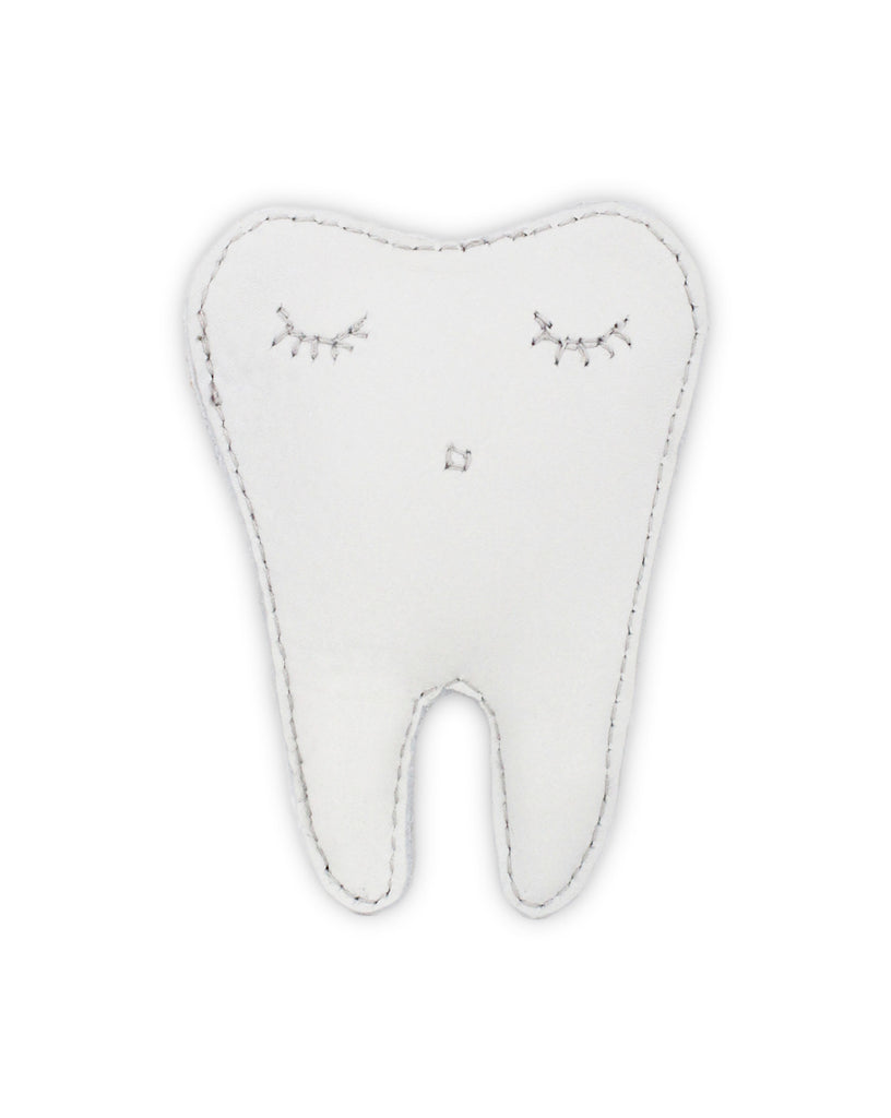 Donsje Tooth Fairy Wallet White Leather | POCO KIDS