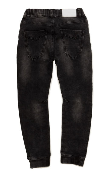 I Dig Denim Black Ben Jeans Joggers- back | POCO KIDS
