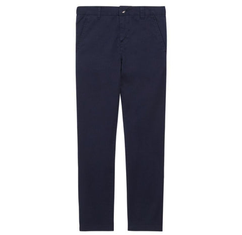 Eleven Paris Encre Blue Chaplin Chino Trousers | POCO KIDS