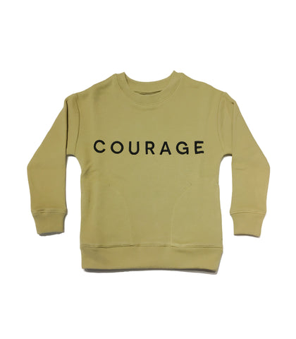 Jax & Hedley Khaki Courage Sweatshirt | POCO KIDS