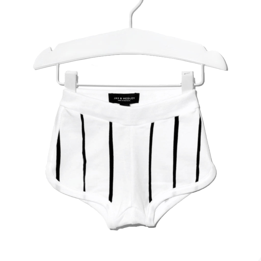 Jax & Hedley Black and White Frankie Shorts | POCO KIDS