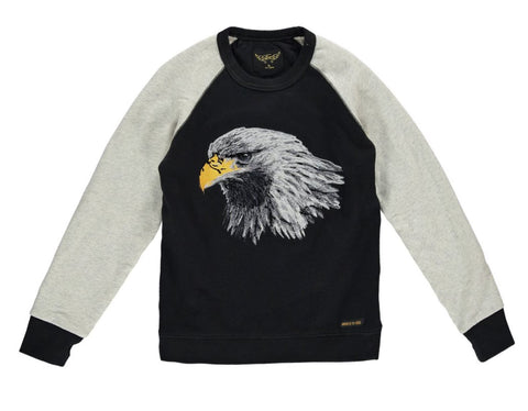 Finger In The Nose Hank Eagle Sweater | POCO KIDS