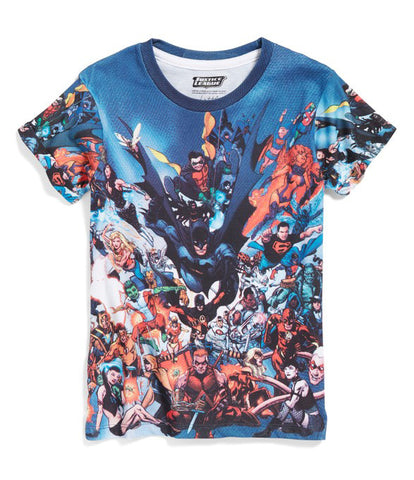 Eleven Paris Blue Justice League T-Shirt | POCO KIDS
