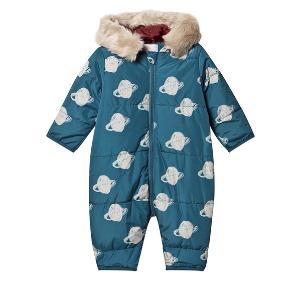 Bobo Choses Blue Saturn Baby Overall | POCO KIDS