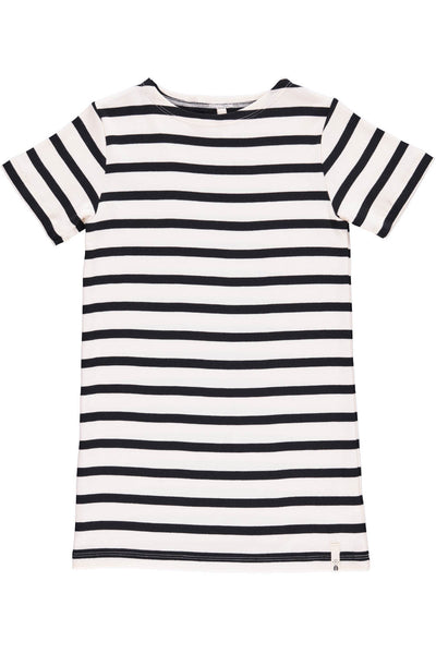 Popupshop Martime Striped Dress, Navy and White | POCO KIDS