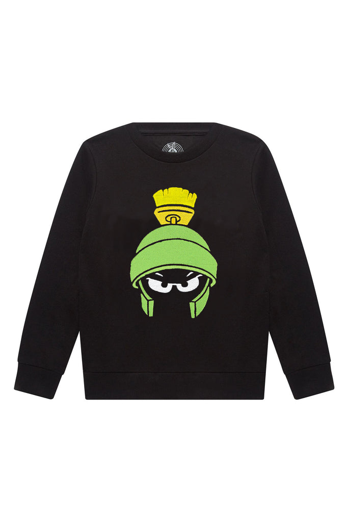 Eleven Paris Black Marvin the Martian Sweatshirt | POCO KIDS