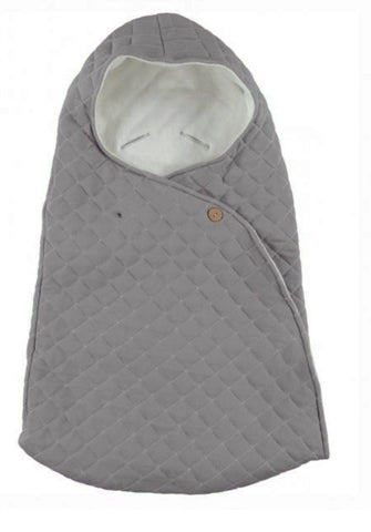 Kidscase Grey Nest / footmuff for Pram and Car Seat | POCO KIDS