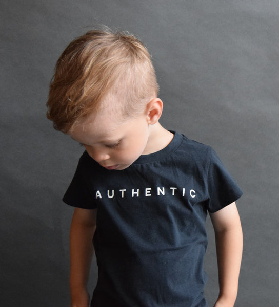 Jax & Hedley Black Authentic T-Shirt, look book image | POCO KIDS