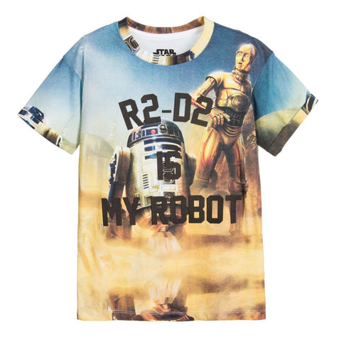 Little Eleven Paris R2-D2 Is My Robot Famnerd T-Shirt | POCO KIDS
