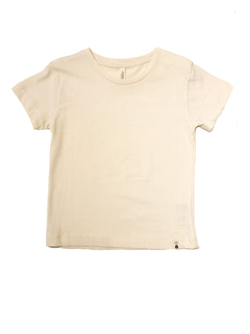 Popupshop Washed White Loose T-Shirt | POCO KIDS