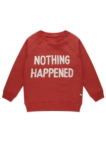 Repose AMS Smoked Red Nothing Happened Sweatshirt | POCO KIDS