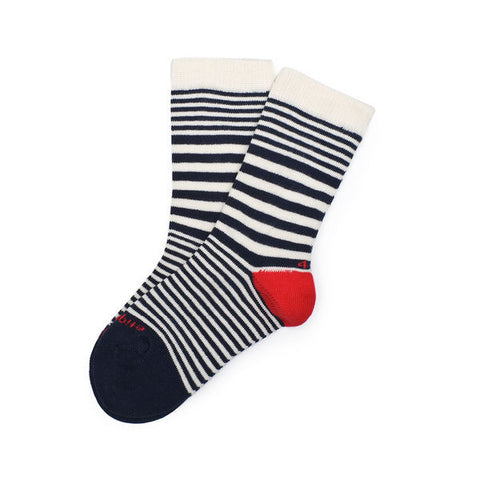Sailor Stripes Vintage Blue Socks