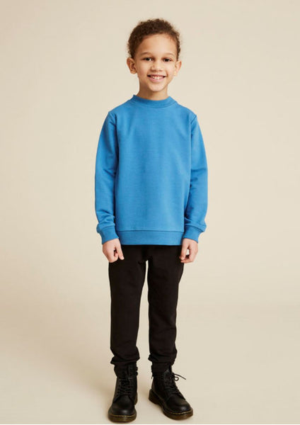 WAWA Sky Blue Sweatshirt, look book | POCO KIDS