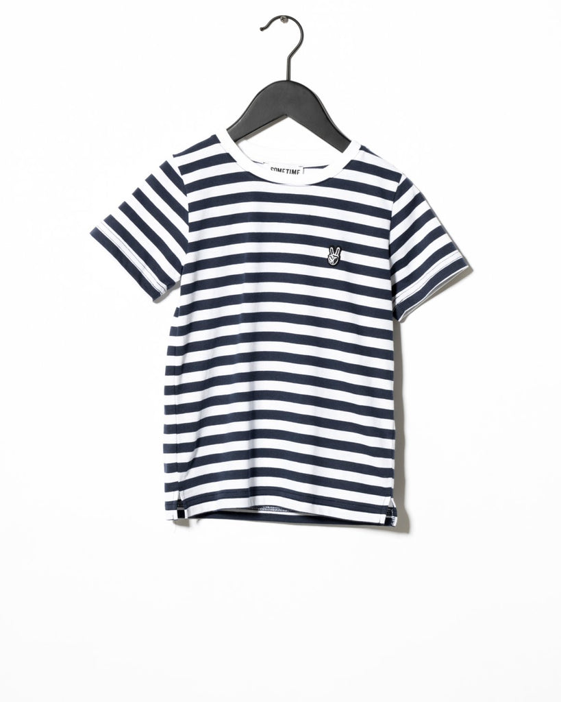 Navy Striped Sofus T-shirt