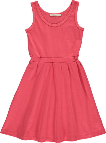 Popupshop Summer Red Cotton Tank Dress | POCO KIDS