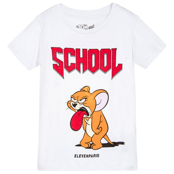Eleven Paris White Tom and Jerry T-Shirt | POCO KIDS