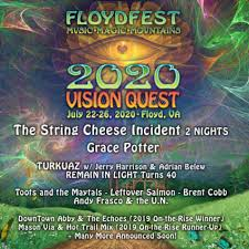 FloydFest 2020: 3-Day General Admission Adult Tickets