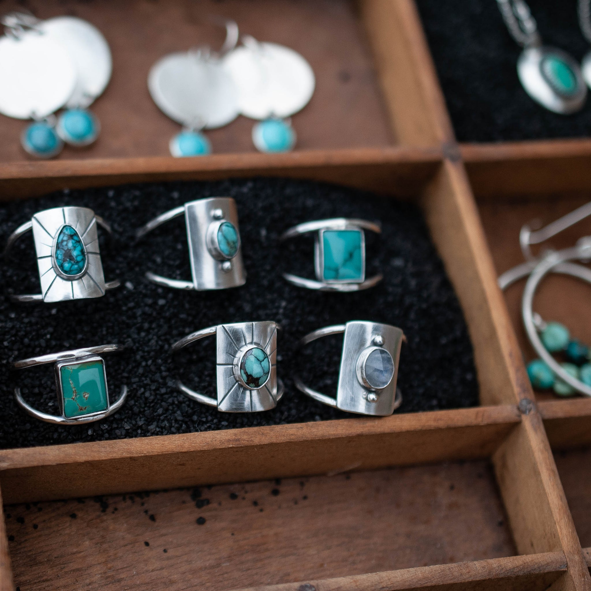 Square Turquoise Ring 2