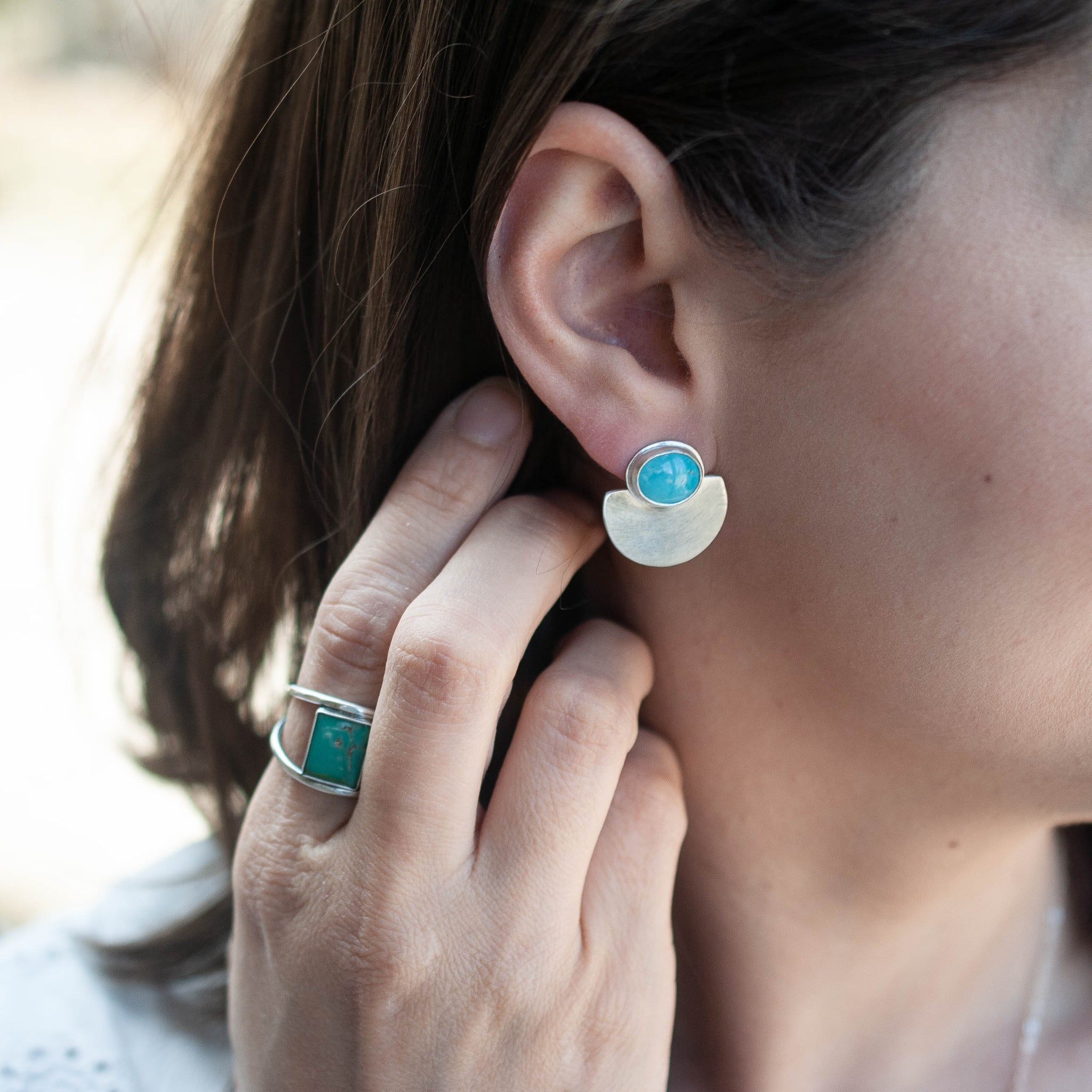 Modern Turquoise Posts
