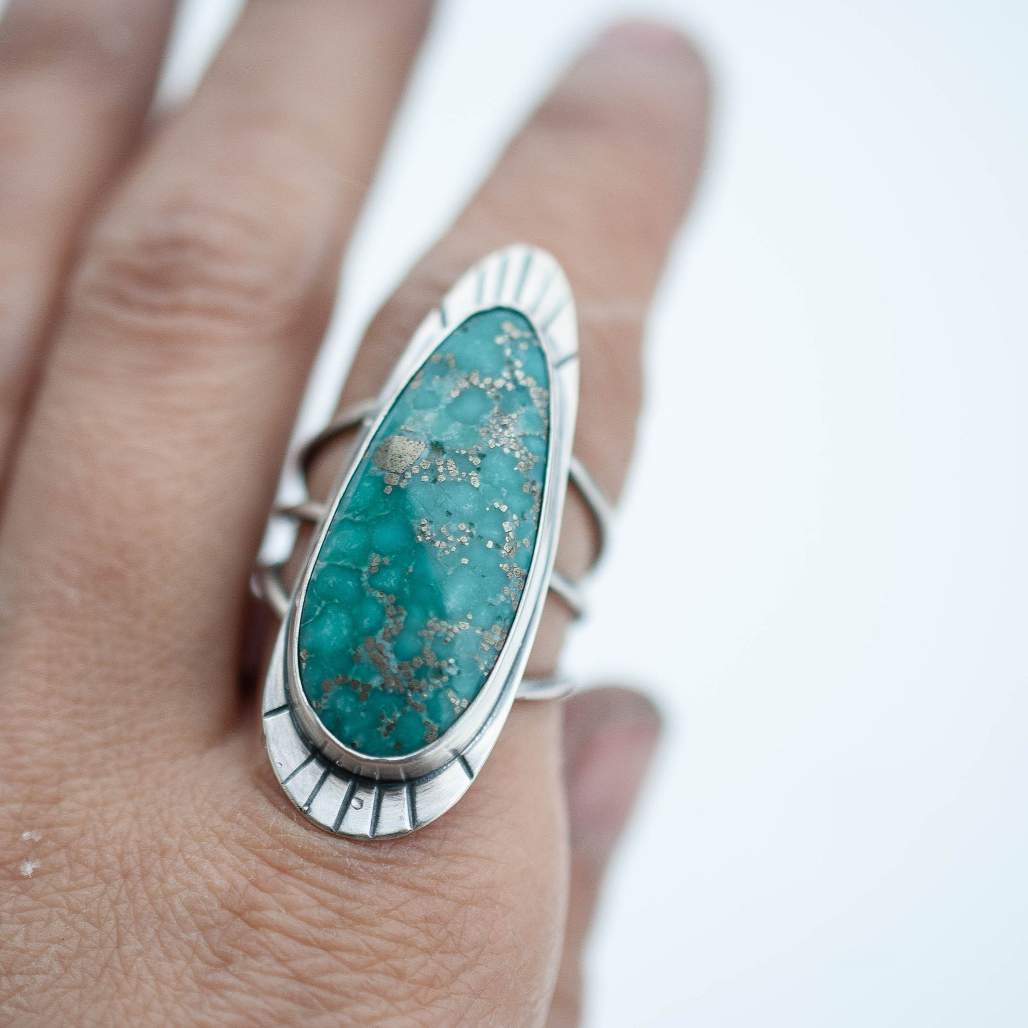 Turquoise Statement Ring 4