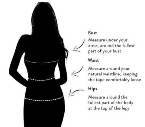 Sizing guide how to measure