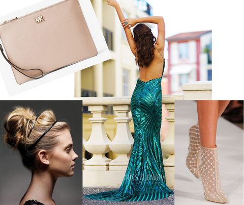 Designer Nude Accessories Formal Styling