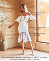 Riana Midi Dress - White [PRE-ORDER]