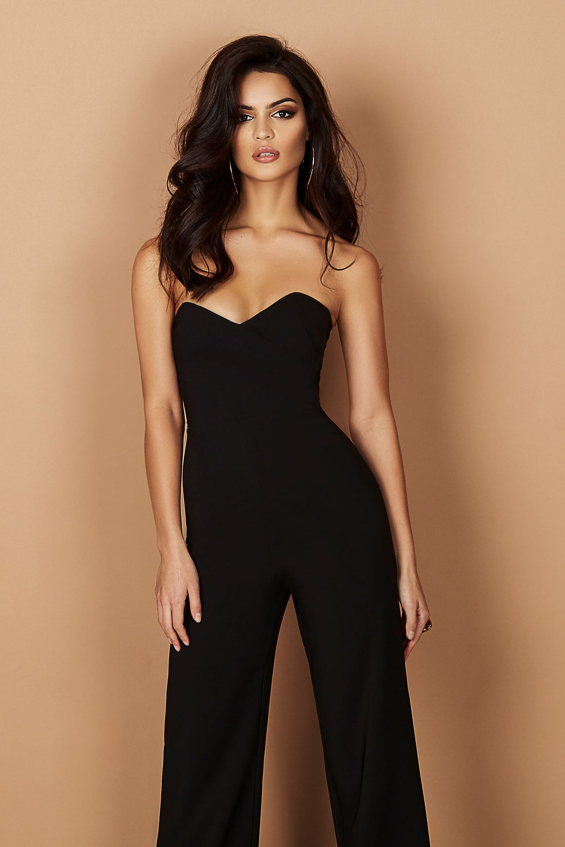 Bisous Jumpsuit - Black - Miss Runway Boutique