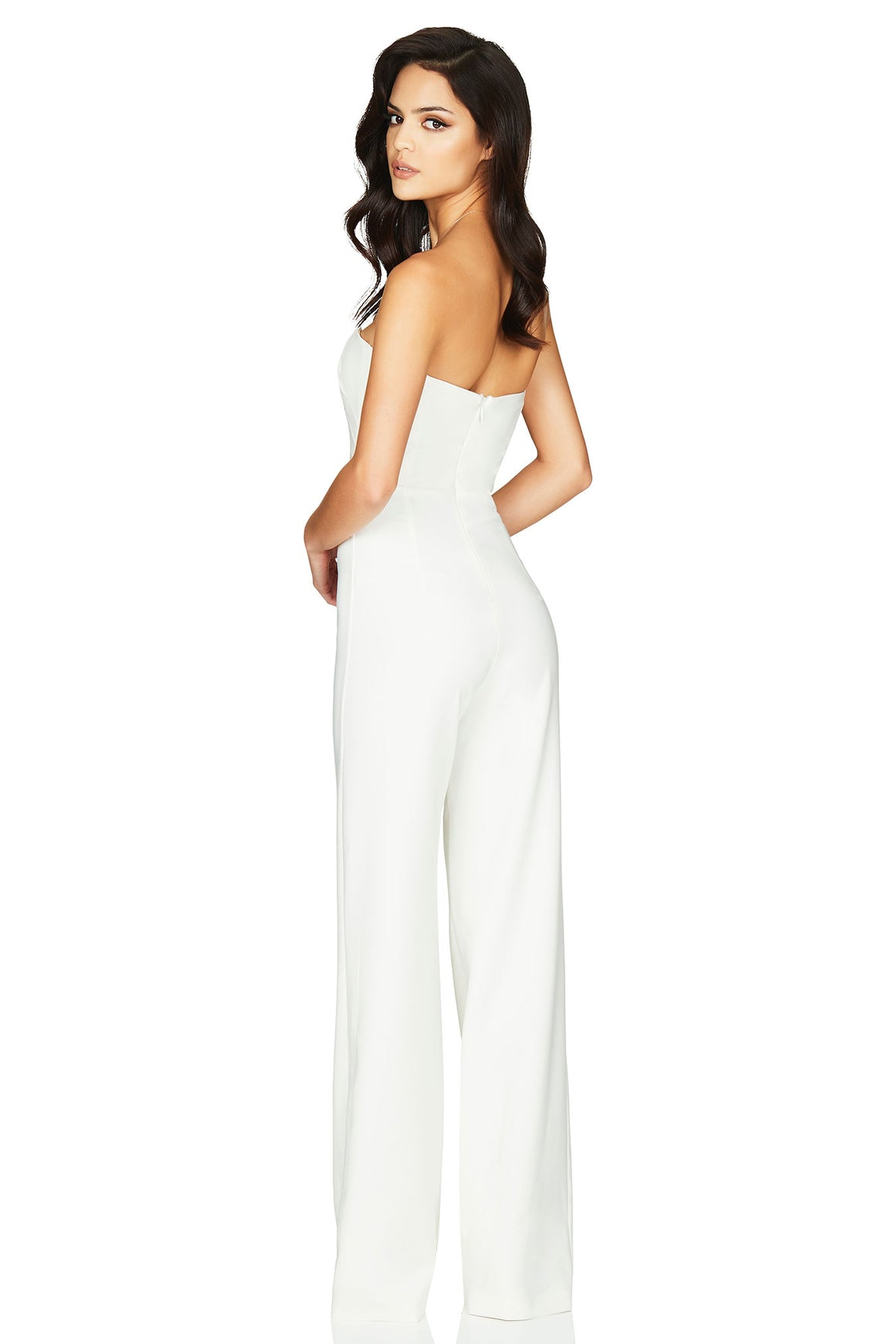 Bisous Jumpsuit - White - Miss Runway Boutique