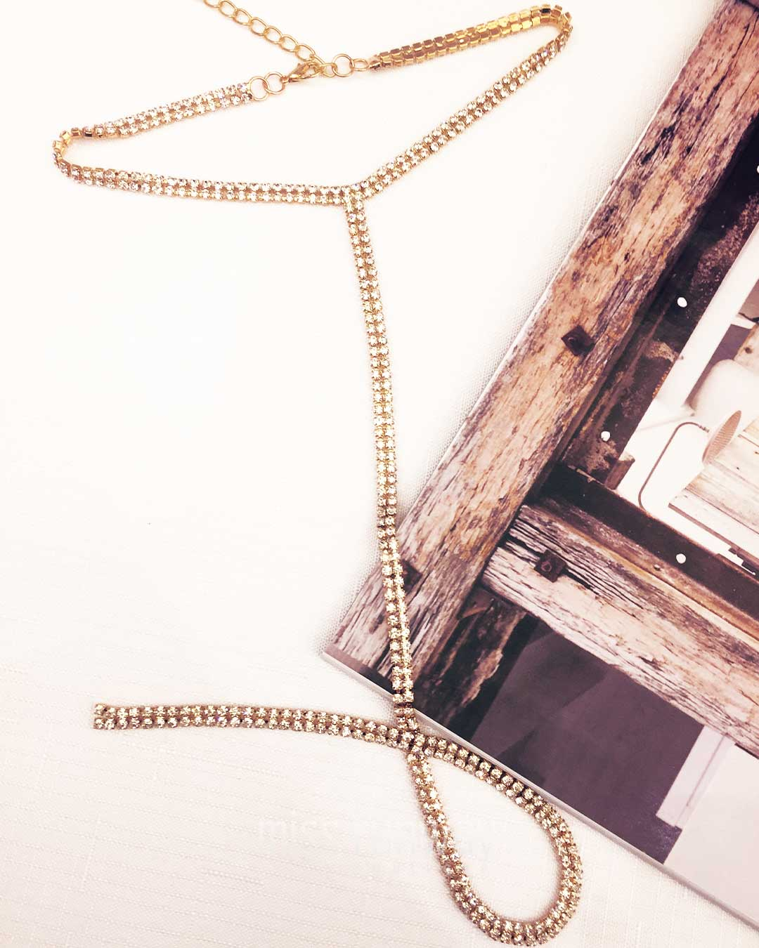 Blaze Necklace - Gold - Miss Runway Boutique