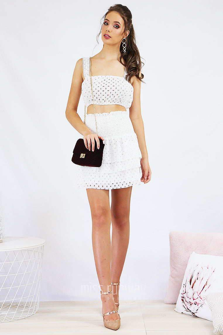 Caxton Set - White - Miss Runway Boutique