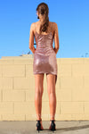 Dance All Night Dress - Rose Gold