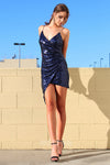 Dance All Night Dress - Navy