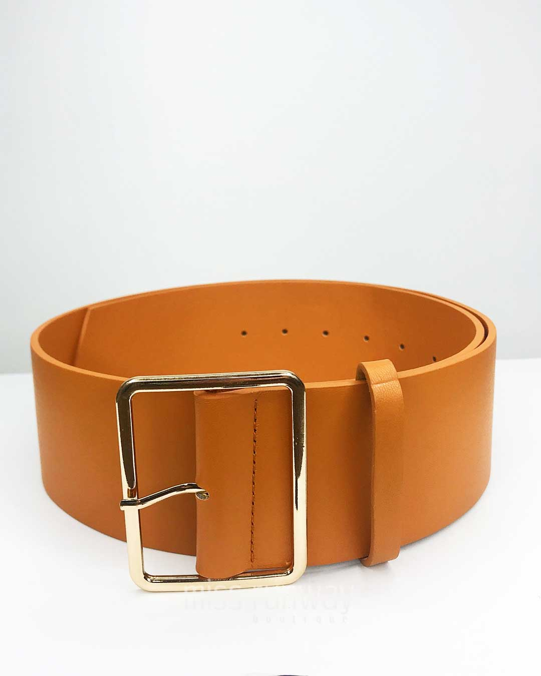 denver belt - tan