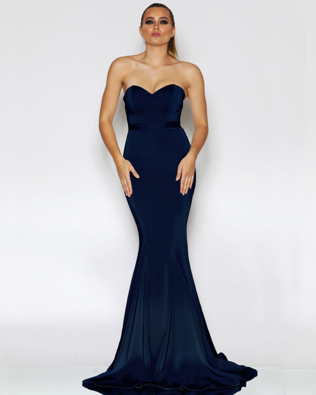 Ellie Formal Gown - Navy