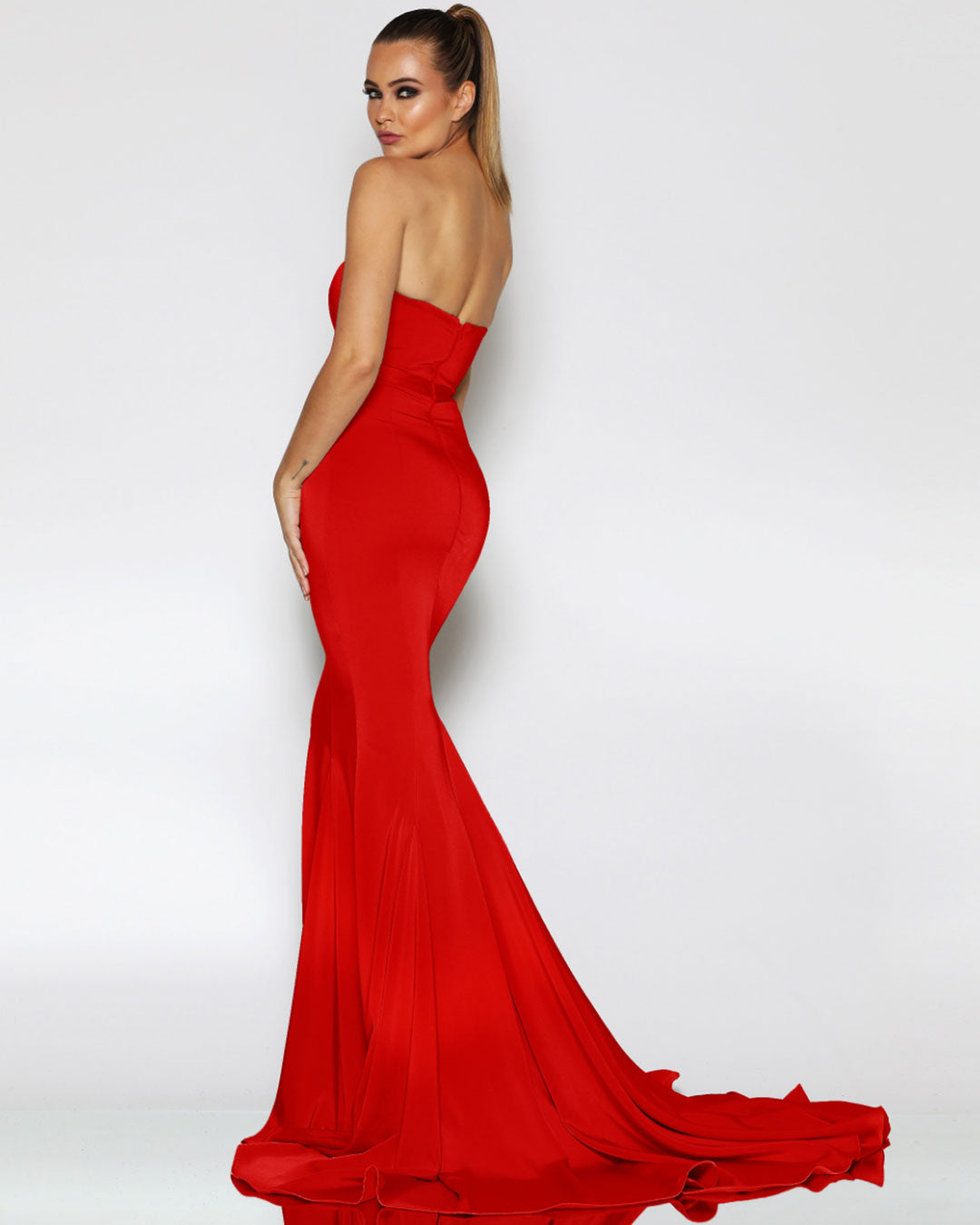 Ellie Formal Gown - Red