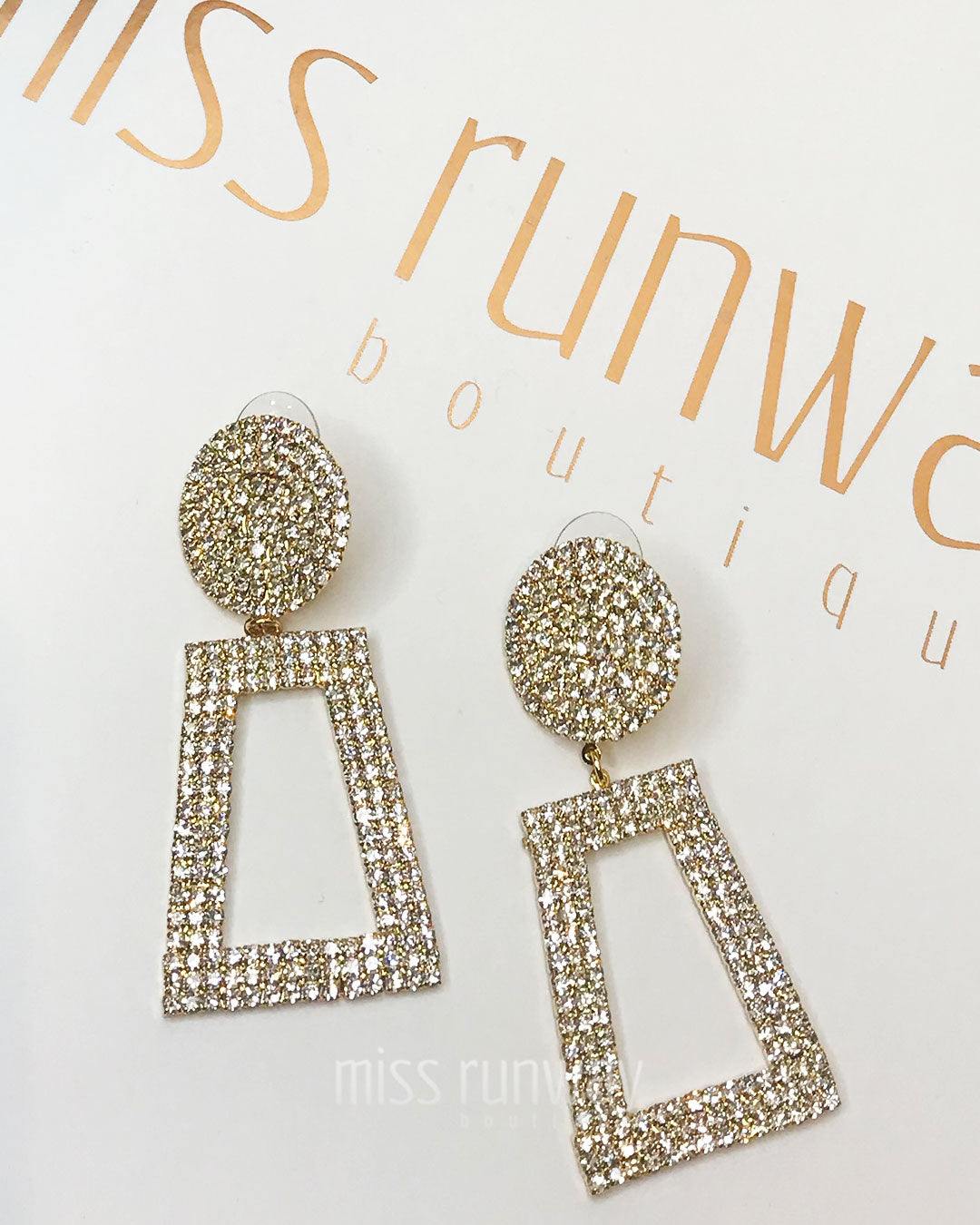 Elsa Earrings - Gold
