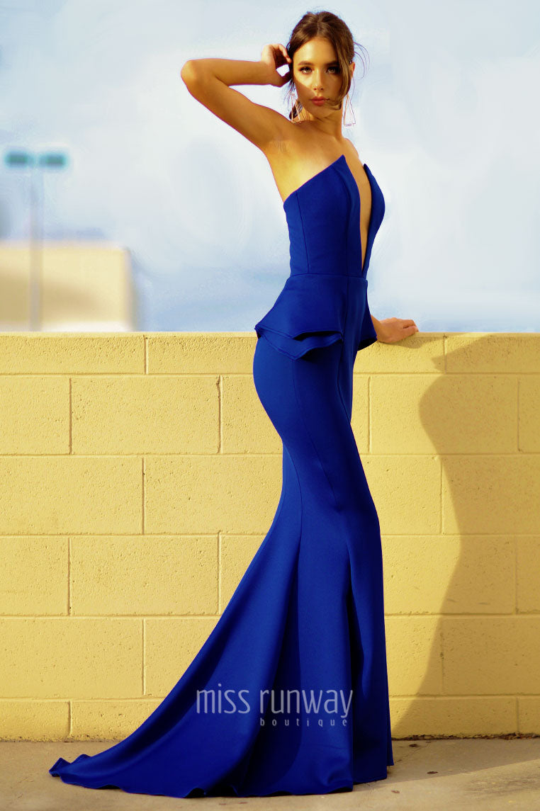 Giselle Gown - Cobalt