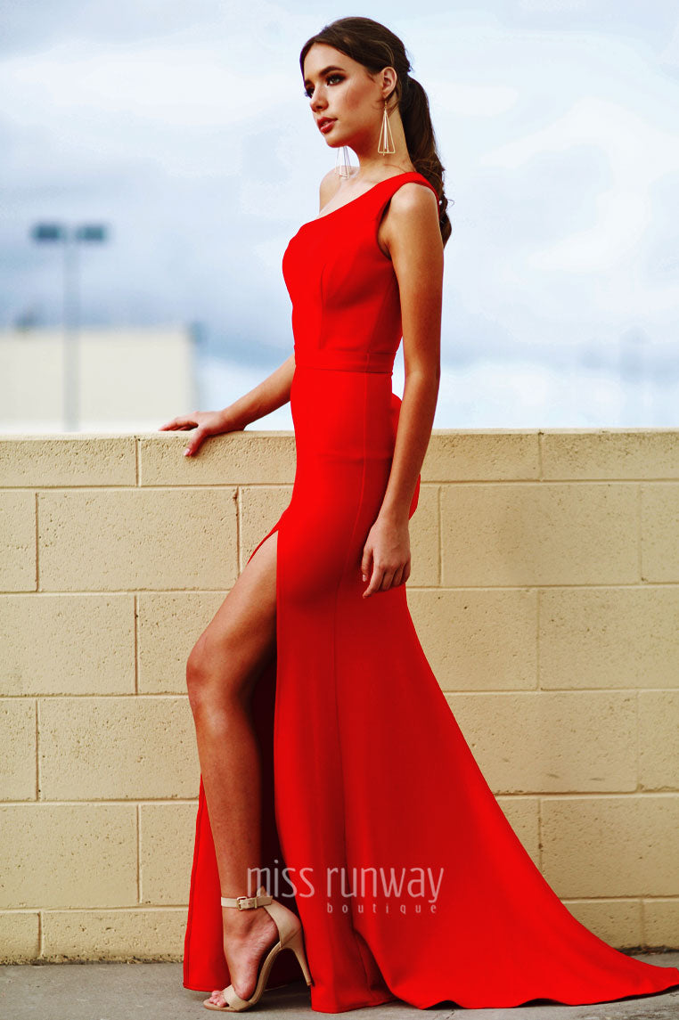 Kiera Gown - Red