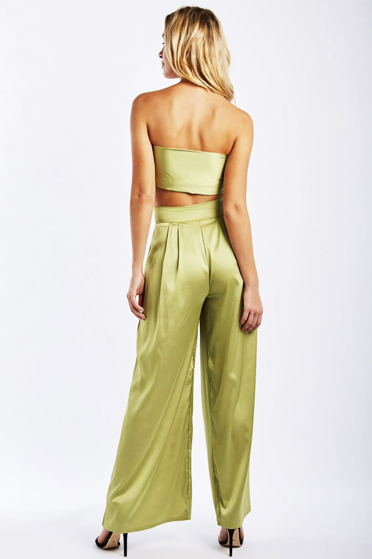 La Vida Two Piece - Moss Green