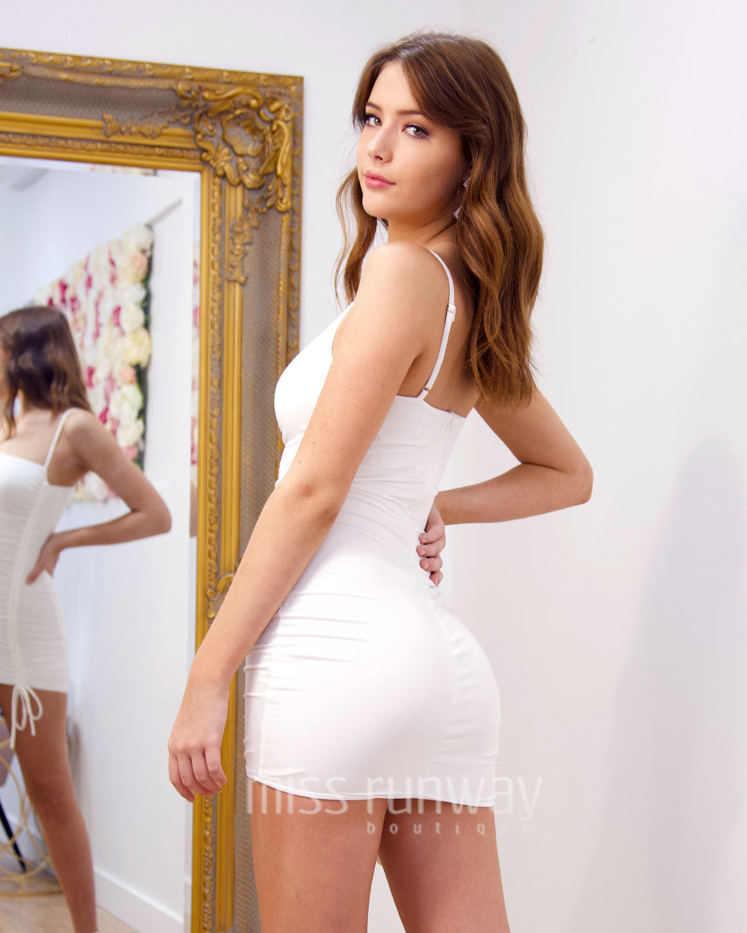 Nova Mini Dress - White