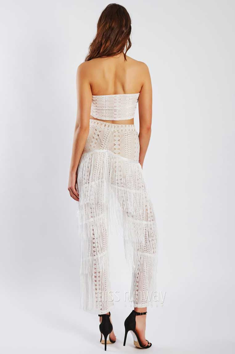 Palm Springs Two Piece - White