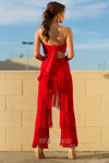 Palm Springs Two Piece - Red